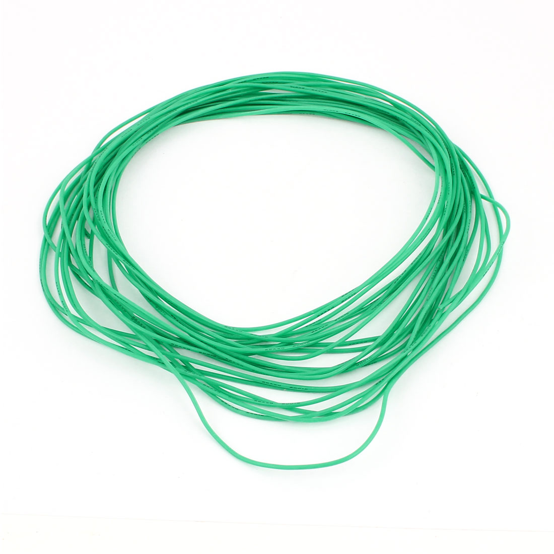 10M 26AWG Electric Copper Core Flexible Silicone Wire Cable Green