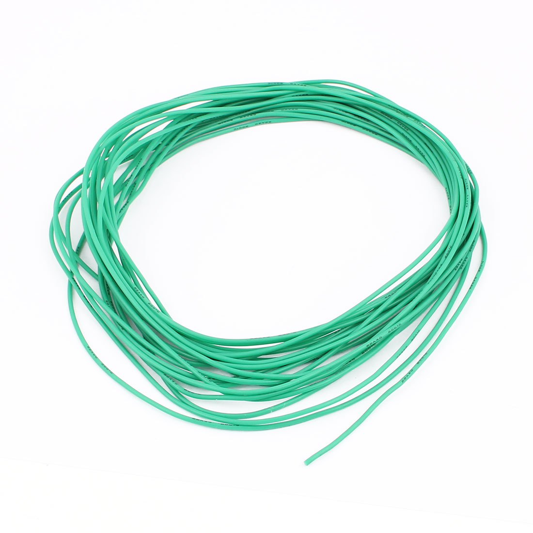 10M 22AWG Electric Copper Core Flexible Silicone Wire Cable Green