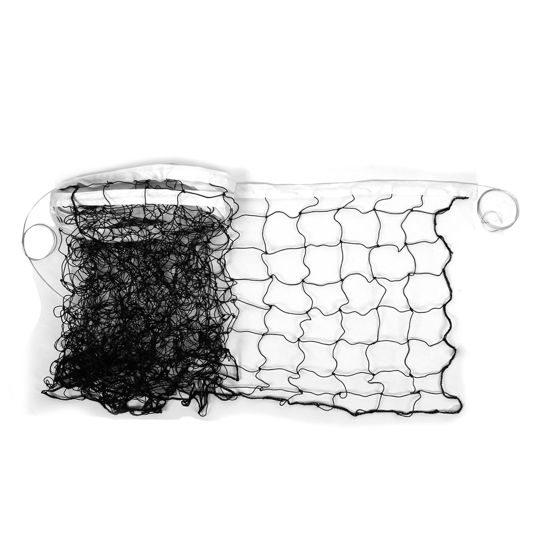 Nylon Retangular Outdoor Indoor Sport Volleyball Braided Knotted Net 10M x 1M