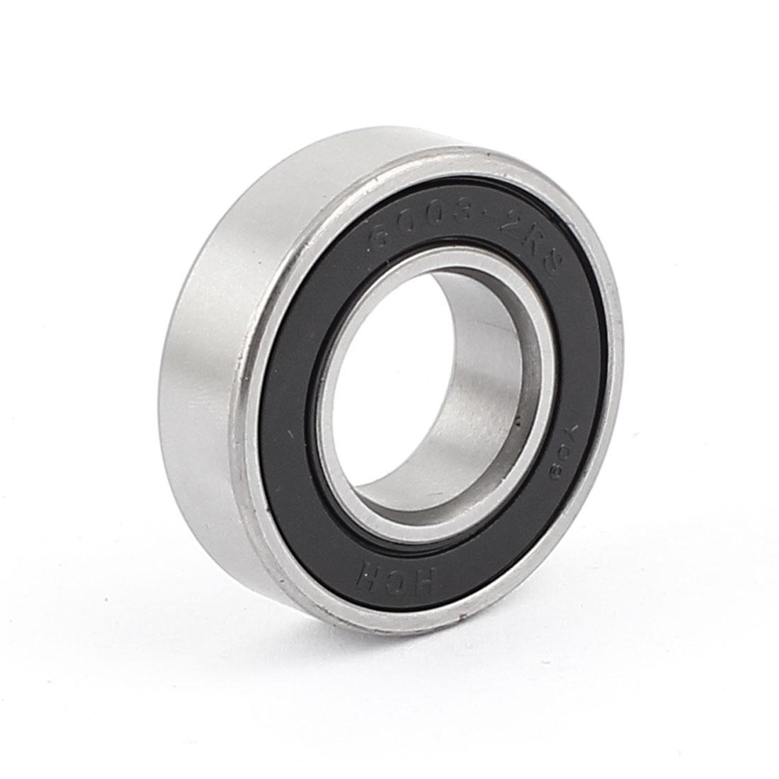 6003-2RS Shielded Deep Groove Ball Wheel Bearing 35mm x 17mm x 10mm