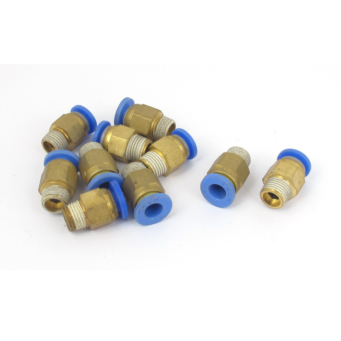 Pneumatic One Touch Push in Joint Fittings 6mm 10 Pcs