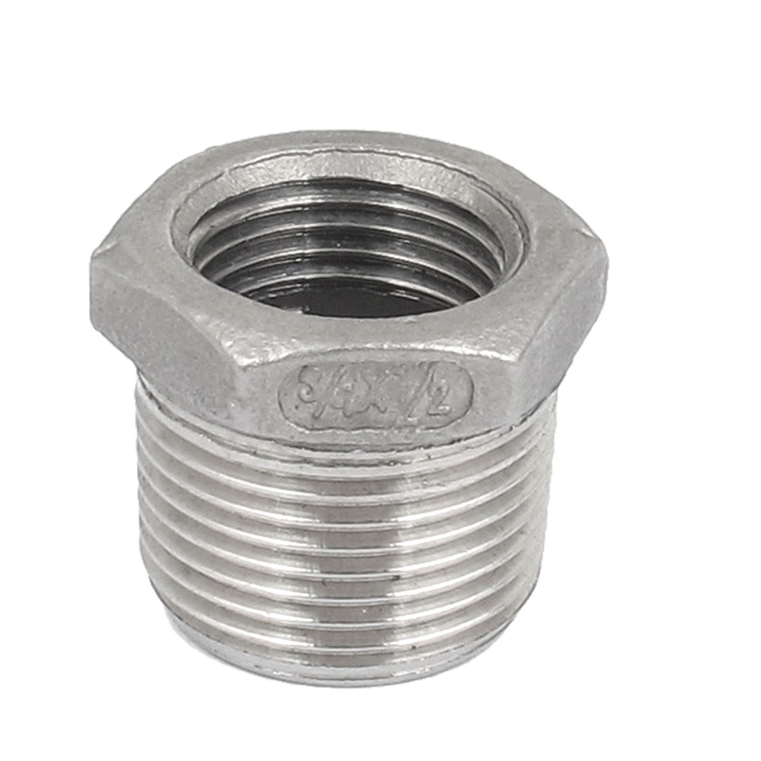 3/4 BSP Male to 1/2 BSP Female Thread Octagon Head Bushing Fitting for Pipeline