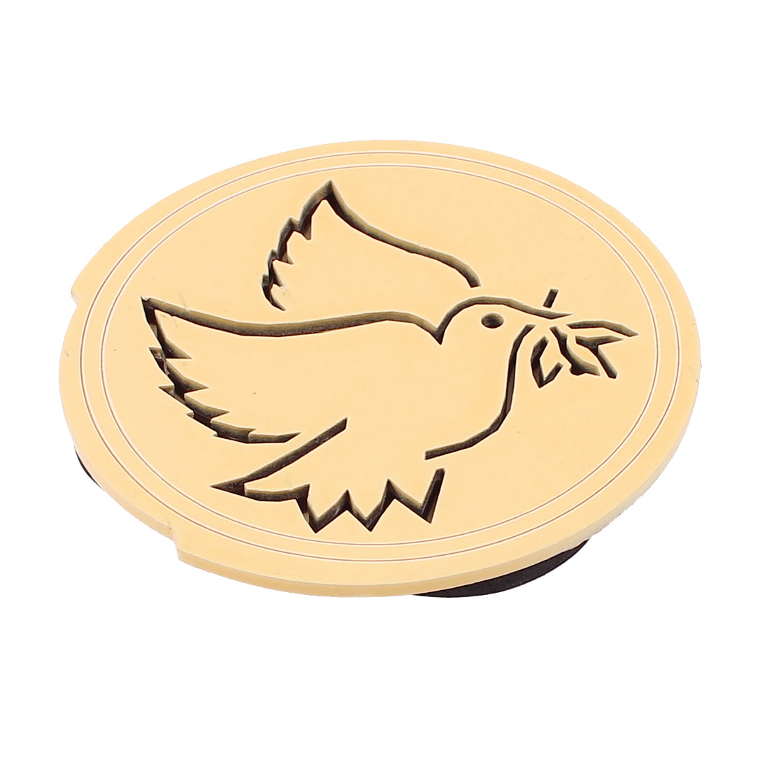 98mm-101mm Hollow Bird Print Wood Soundhole Hole Sound Cover Block for Acoustic Electric Guitar Feedback Buster