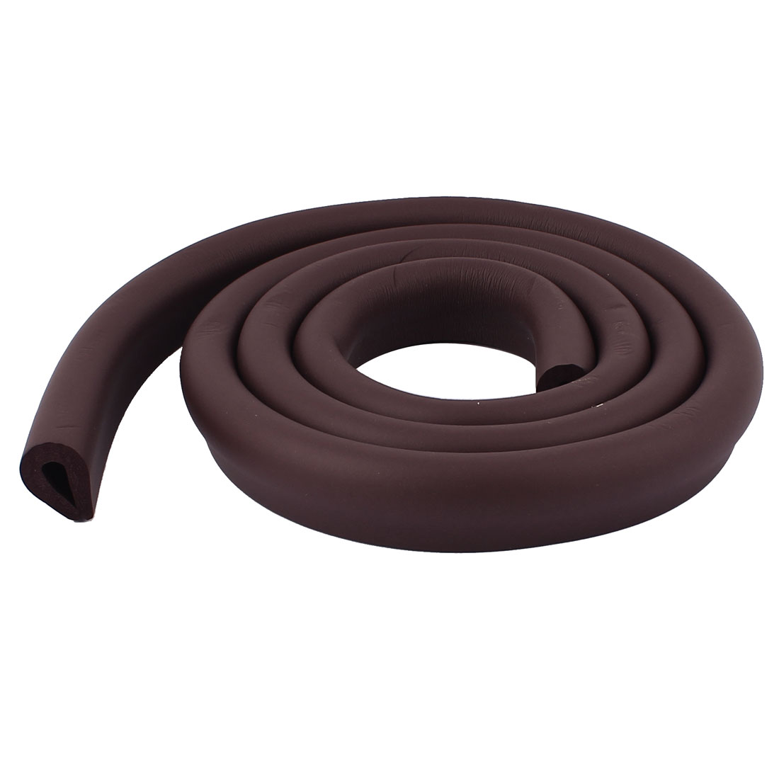 Safety Furniture Corner Edge Soft Protection Cushion Guard 1.9M Coffee Color
