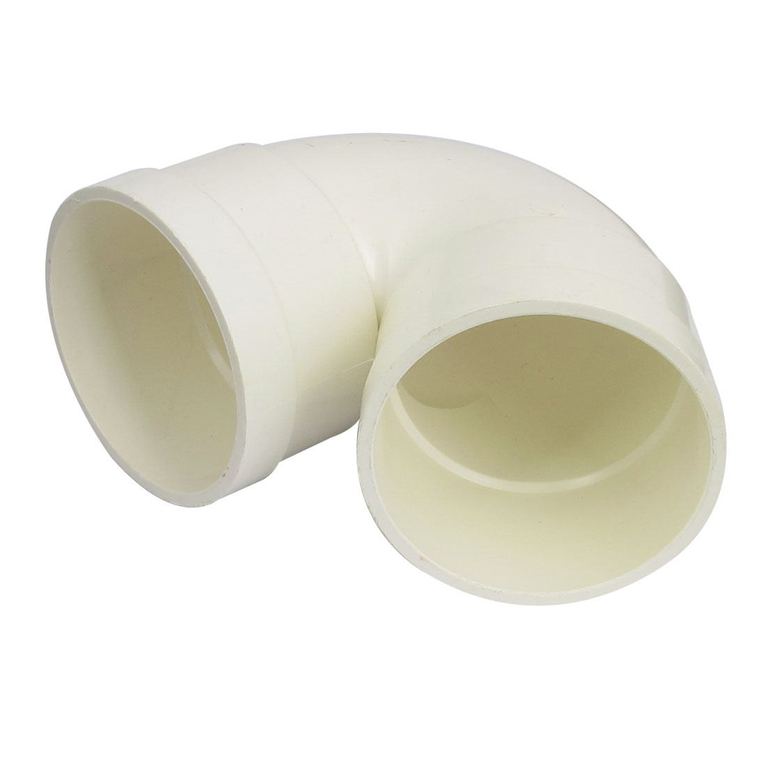 75mm Inner Diameter PVC-U Water Pipe Tube 90 Degree Elbow Type Adapter Connector Fitting