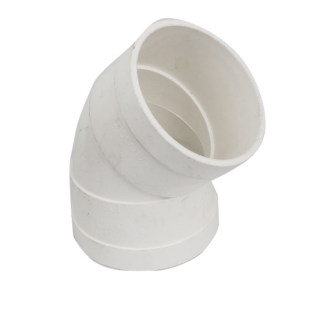 75mm Inner Diameter PVC-U Water Pipe Tube 45 Degree Elbow Design Coupler Connector Fitting