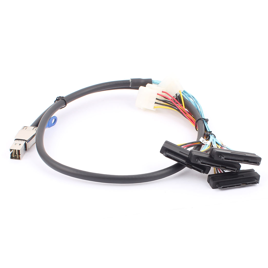SAS HD 36 Pin SFF-8644 to SFF-8482 29Pin + 4Pin Data Cable Cord 1M 3.3ft