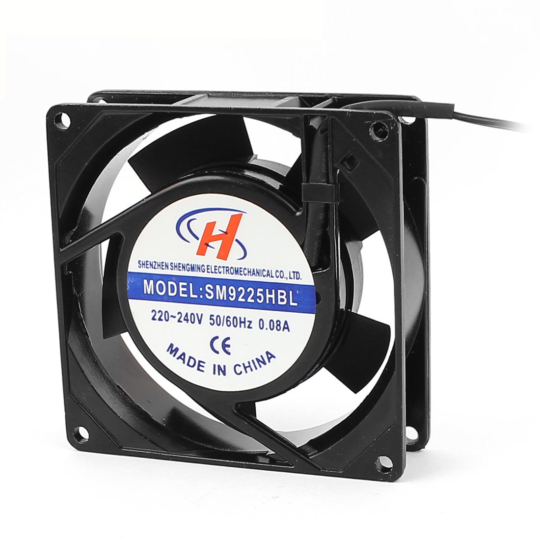 AC 220V-240V Axial Computer Case CPU Cooling Cooler Fan 92x92x25mm