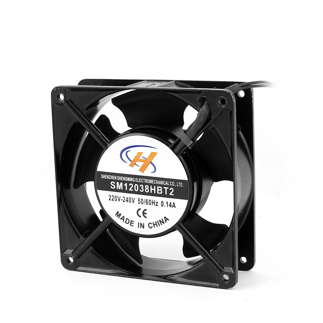 AC220V-240V Axial Computer Case CPU Cooling Cooler Fan 120x120x38mm