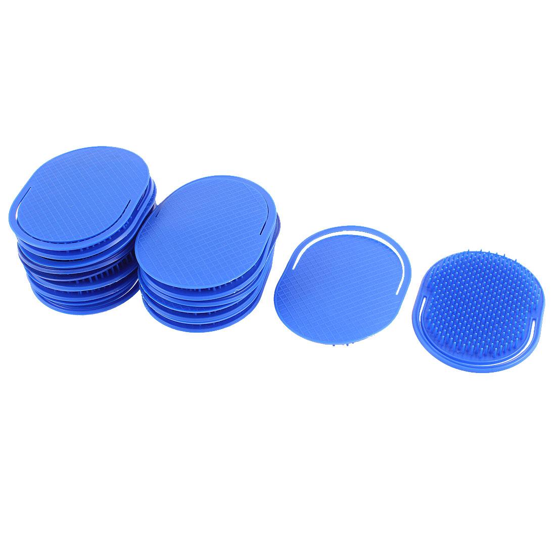 Travel Hair Comb Scalp Massage Brush Dark Blue 20Pcs