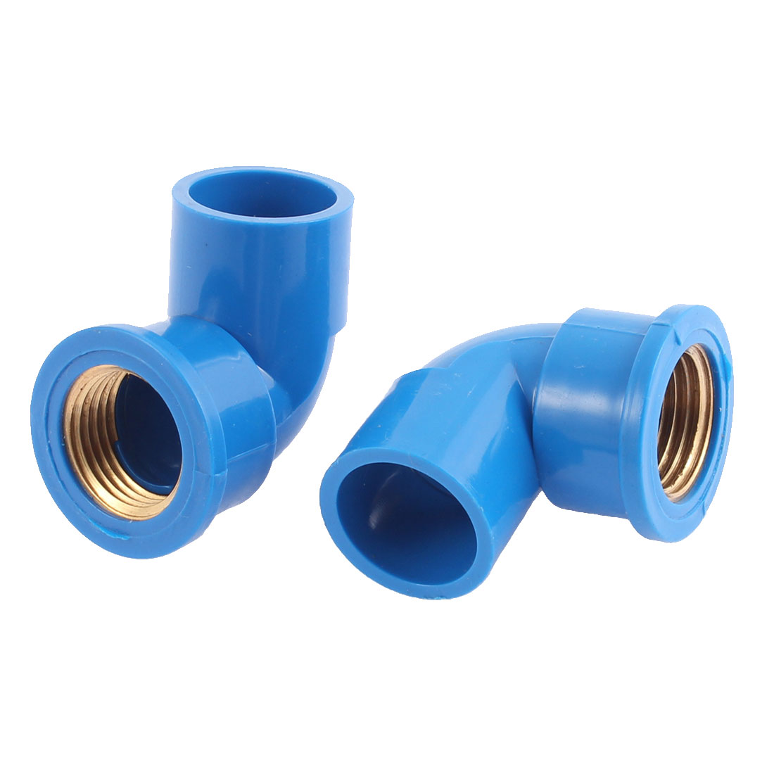 Right Angle Pipe Hose Elbow Joiner Connector 1/2BSP Female Thread 4PCS