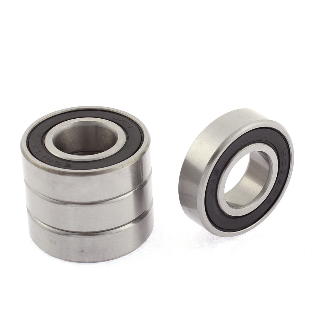 6002RS Dual Side Seals Deep Groove Bearing Ball 15mm Inner Dia 4pcs