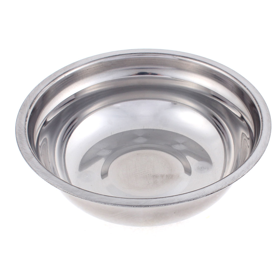 "Round Shape Stainless Steel Dinner Soup Bowl 6"" Diameter"