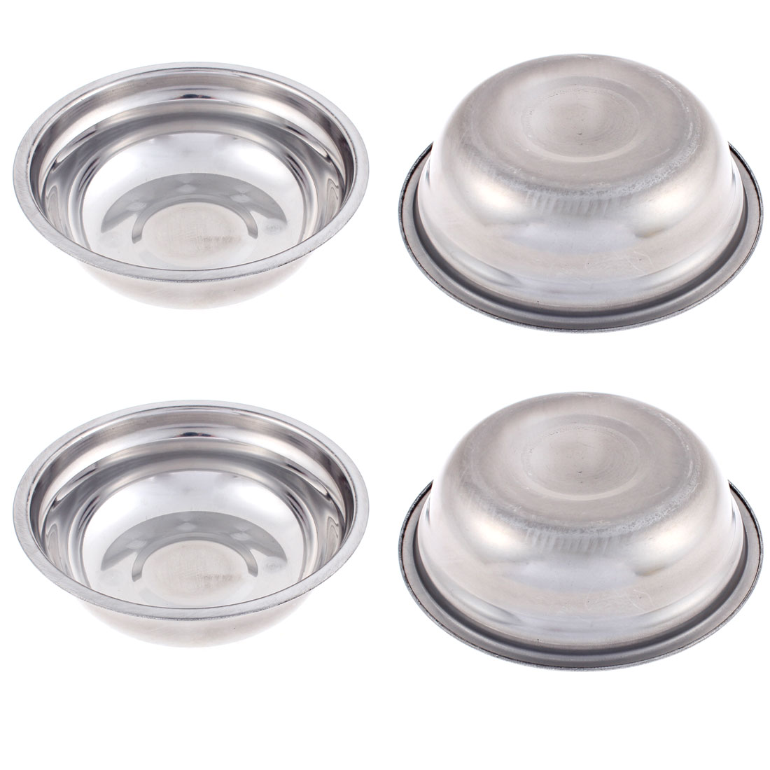 "Home Round Shaped Dinner Soup Rice Food Bowl 6"" Dia 4Pcs"