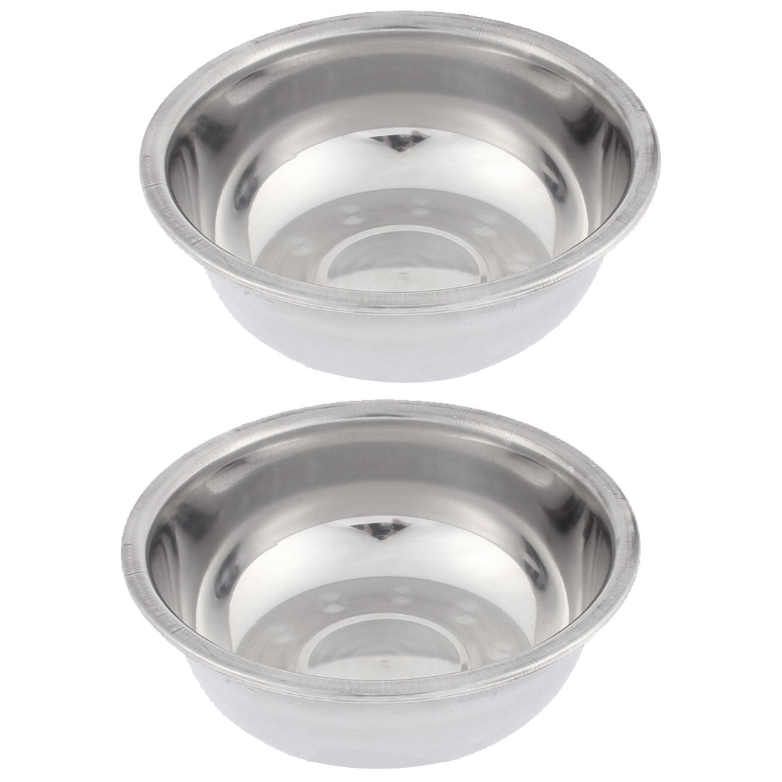 Round Shaped Soup Rice Food Bowl 17cm Dia 2Pcs
