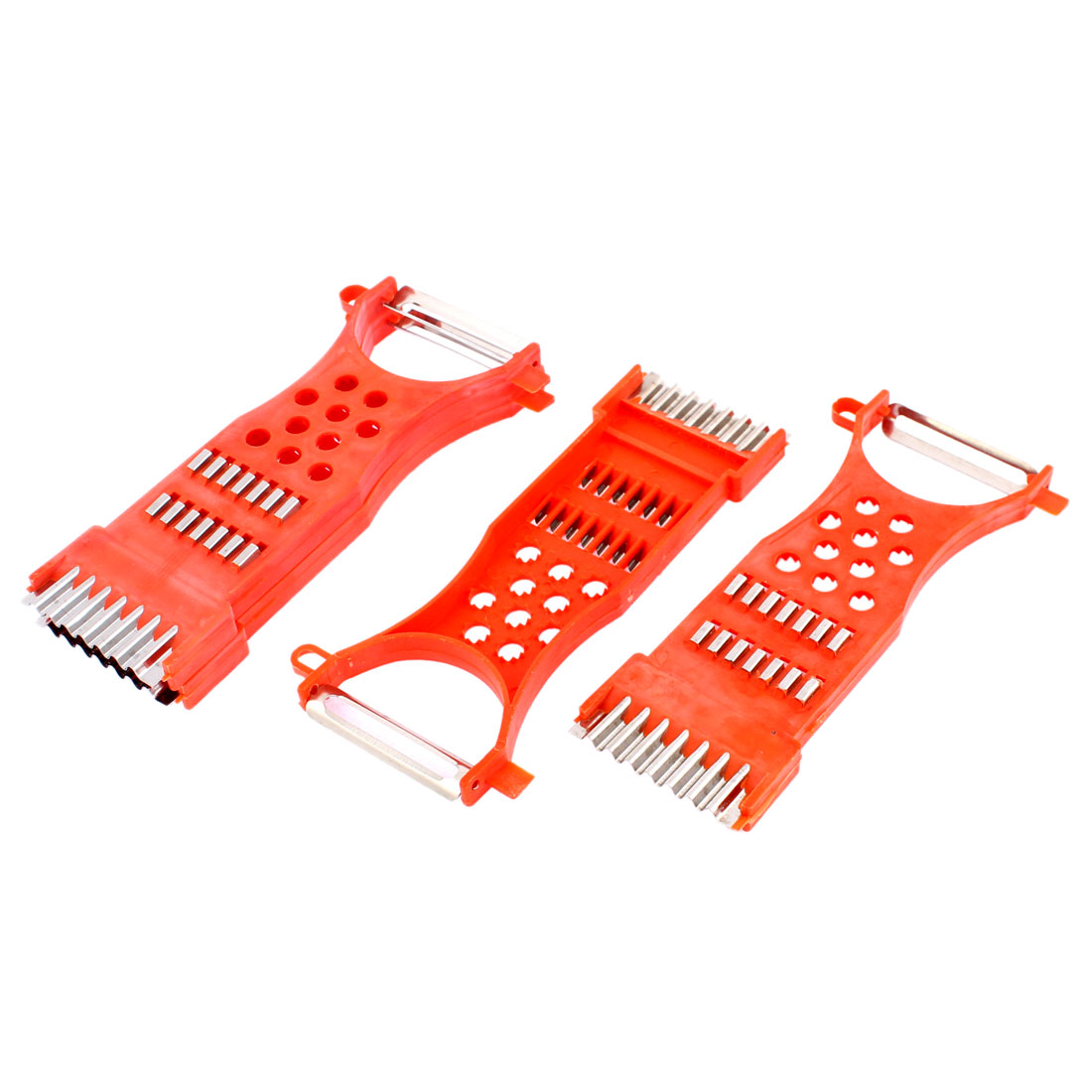Kitchen Multifunctional Vegetable Fruit Grater Slicer Peeler Cutter Tool 4pcs