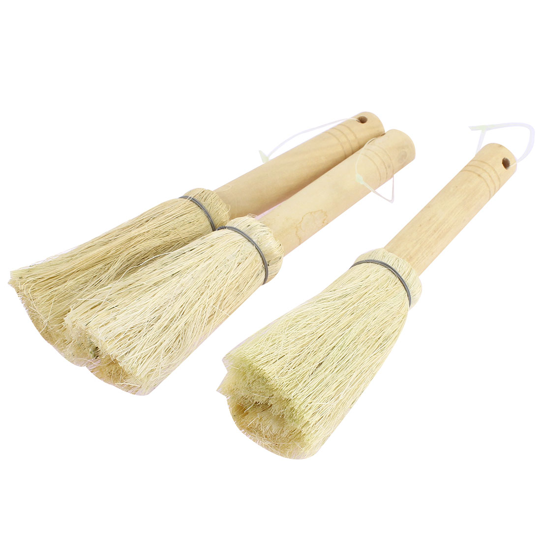 Kitchen Pot Pan Bowl Plate Bristle Scrubber Brush Cleaner Cleaning Tool 3pcs