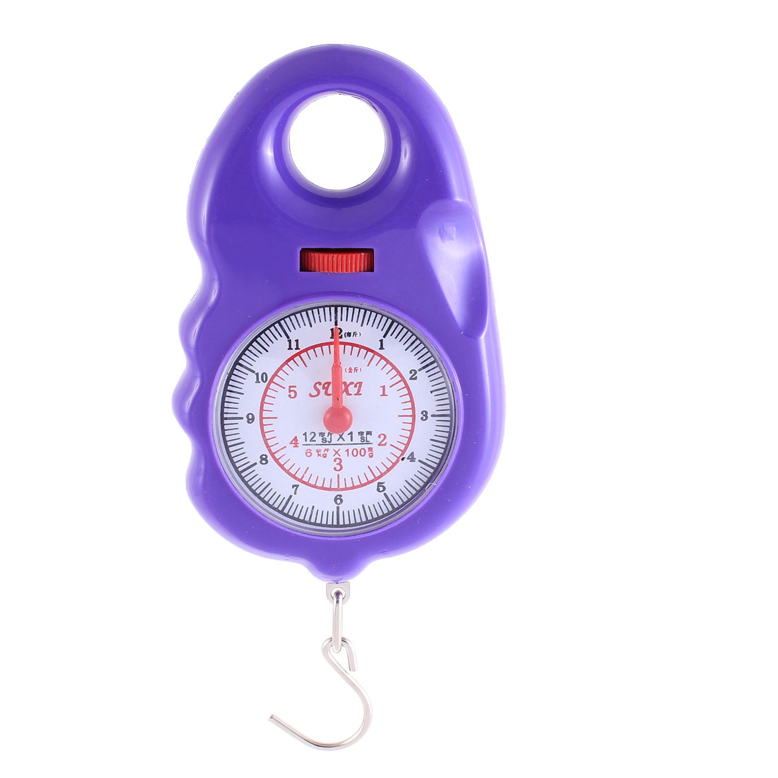 Handheld Portable Hook Scale Weighter 6Kg Purple