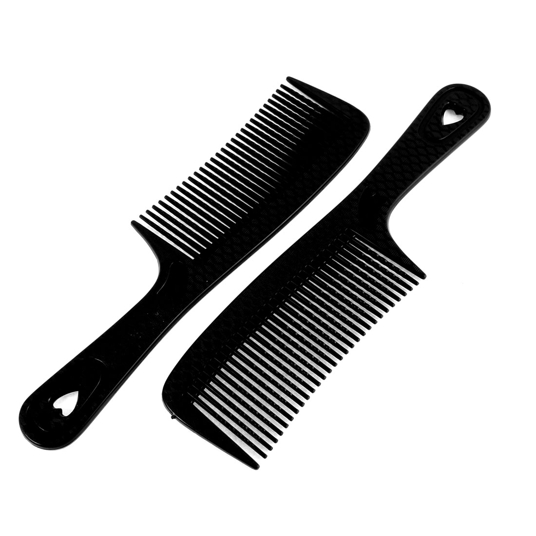 Plastic Wide Wavy Tooth Curly Straight Hair Care Comb Hairbrush 2pcs