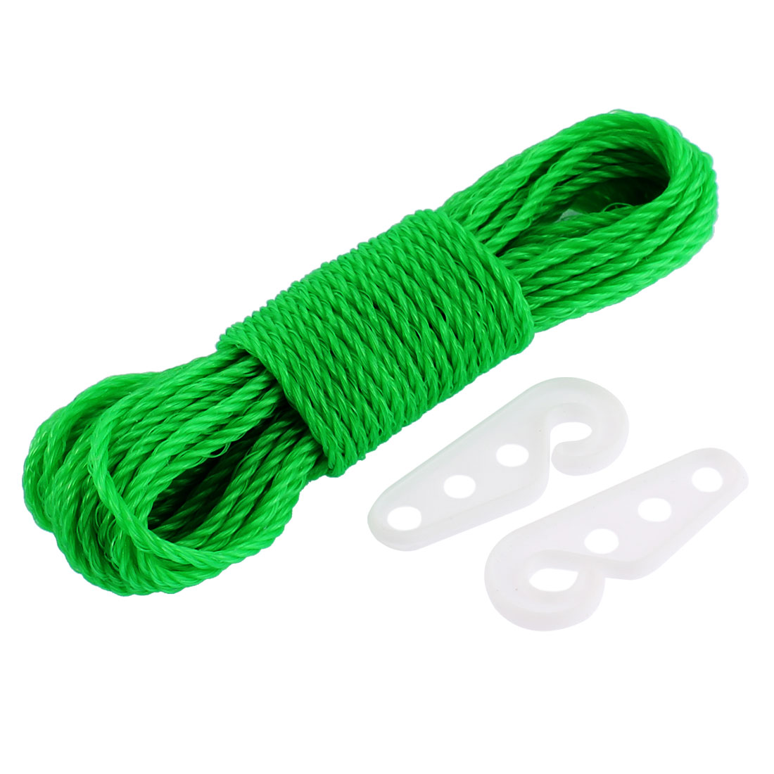 Outdoor Nylon Clothesline Clothes Rope 10M 33Ft Long Green