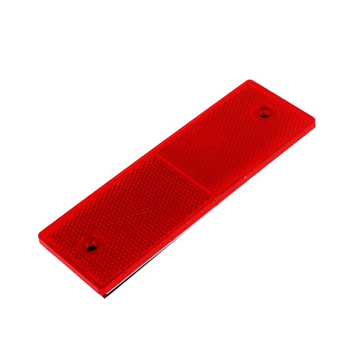 Car Truck Plastic Safety Reflective Warning Self-adhesive Plate Stickers Red