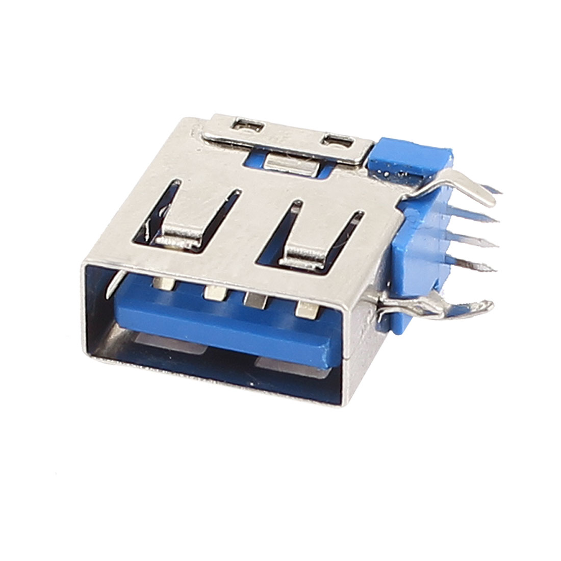 USB 3.0 Type A Female Port 4 Pin 90 Degree DIP Panel Mount Socket Connector