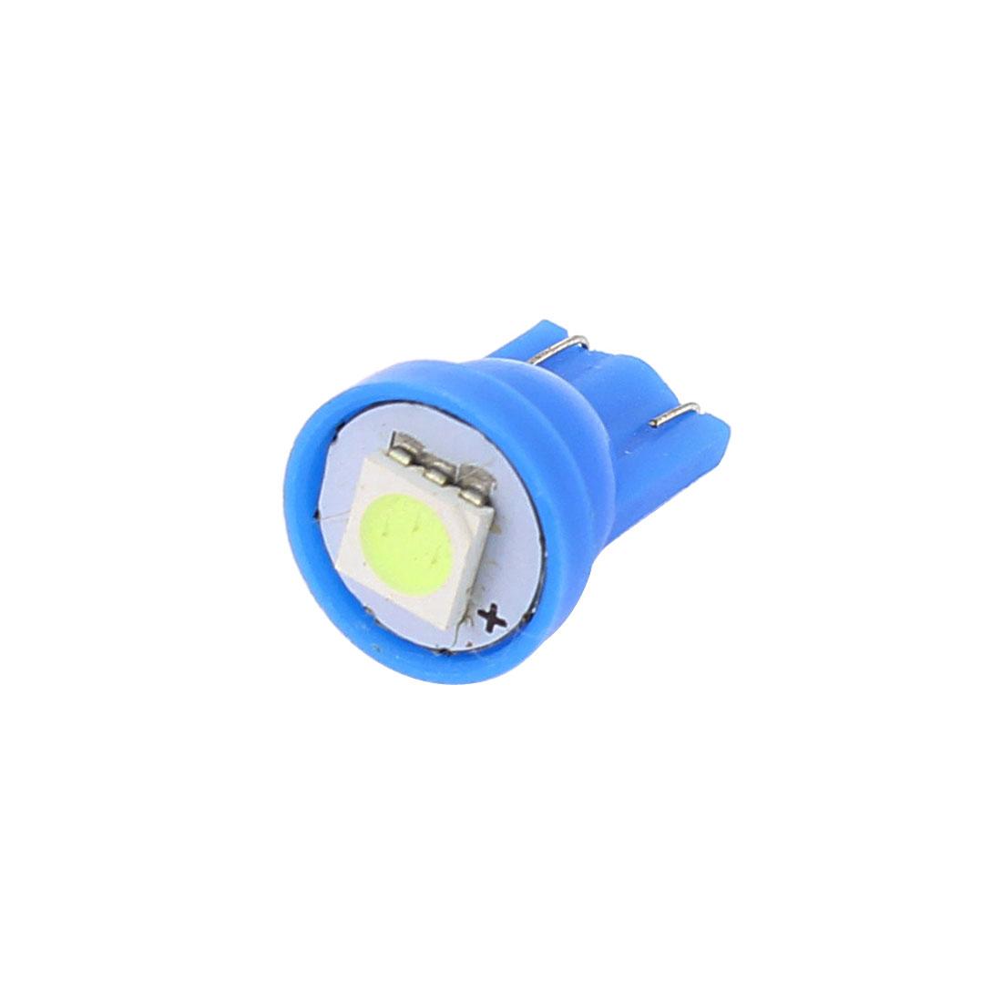 Blue T10 5050 SMD 1 LED 194 168 147 W5W 2652 2921 2825 Car Light Lamp Bulb Interior
