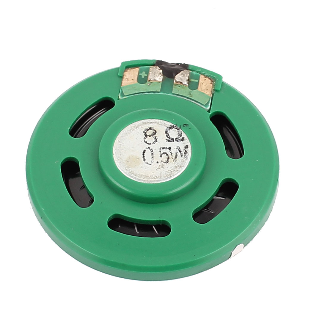 40mm x 17mm 8 Ohm 0.5W Green Shell Internal Magnet Speaker Horn Loudspeaker