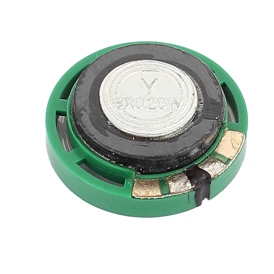 Plastic Shell 29mm 8 Ohm 0.25W Outside Magnet Speaker Horn Loudspeaker Green