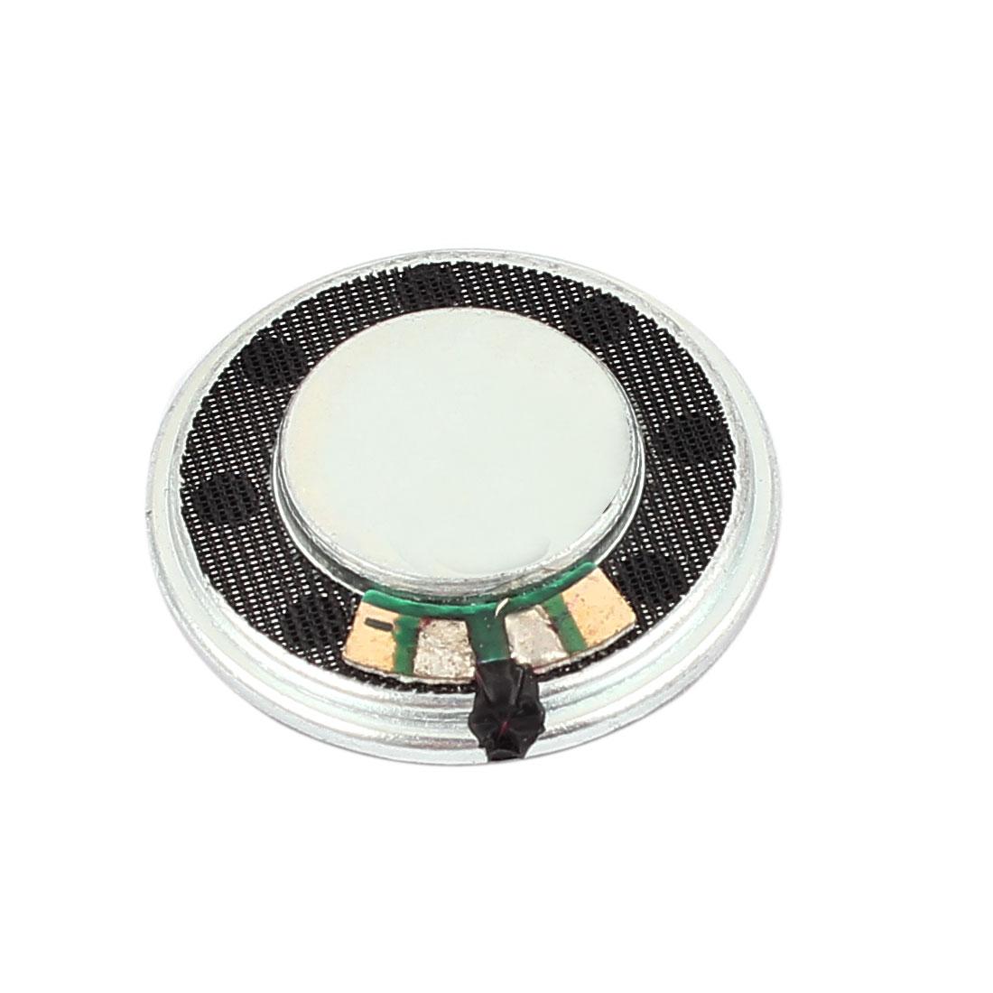 28mm Diameter 4 Ohm 1W Aluminum Shell Internal Magnet Speaker Horn Loudspeaker