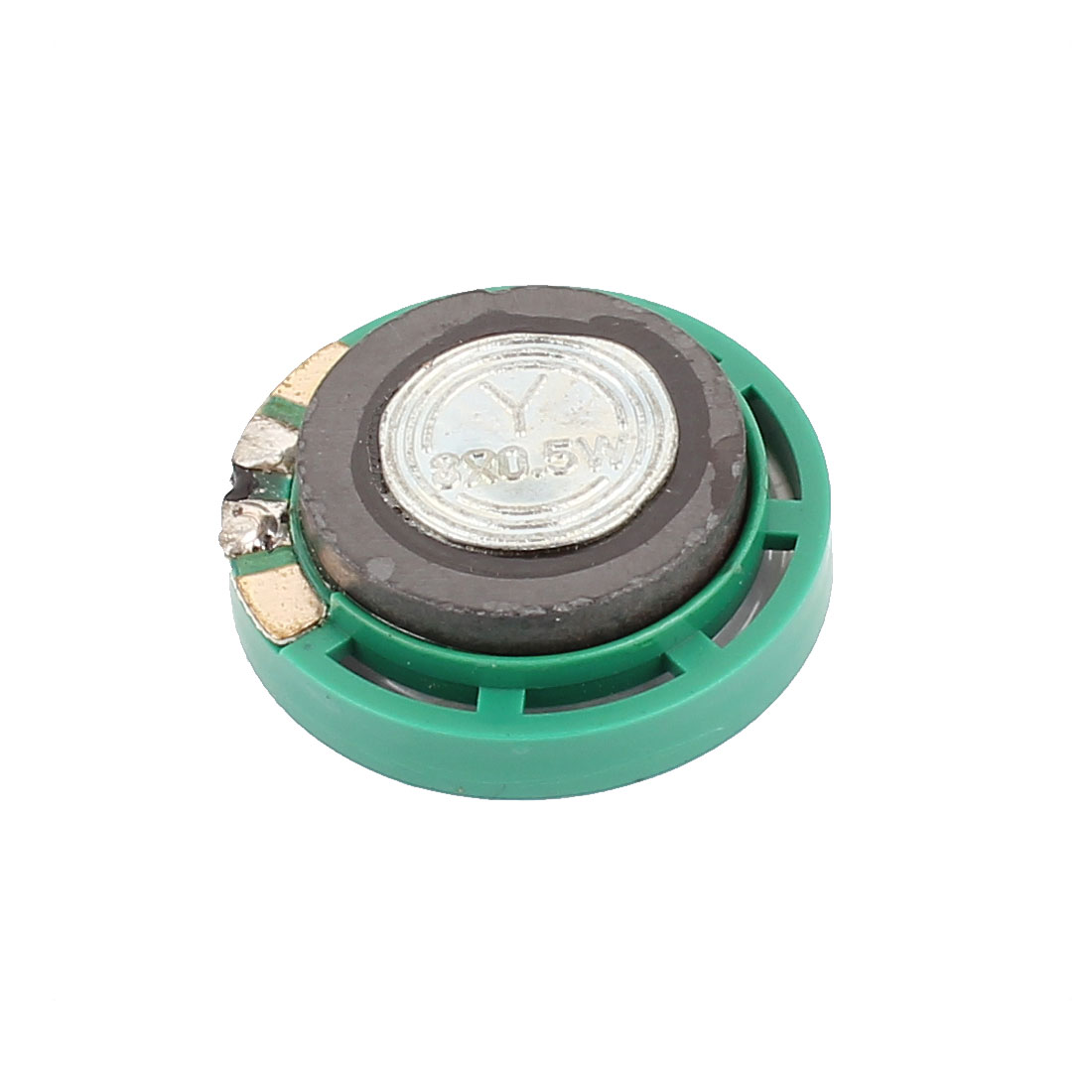 Plastic Housing 29mm 8 Ohm 0.5W External Magnet Speaker Horn Loudspeaker Green