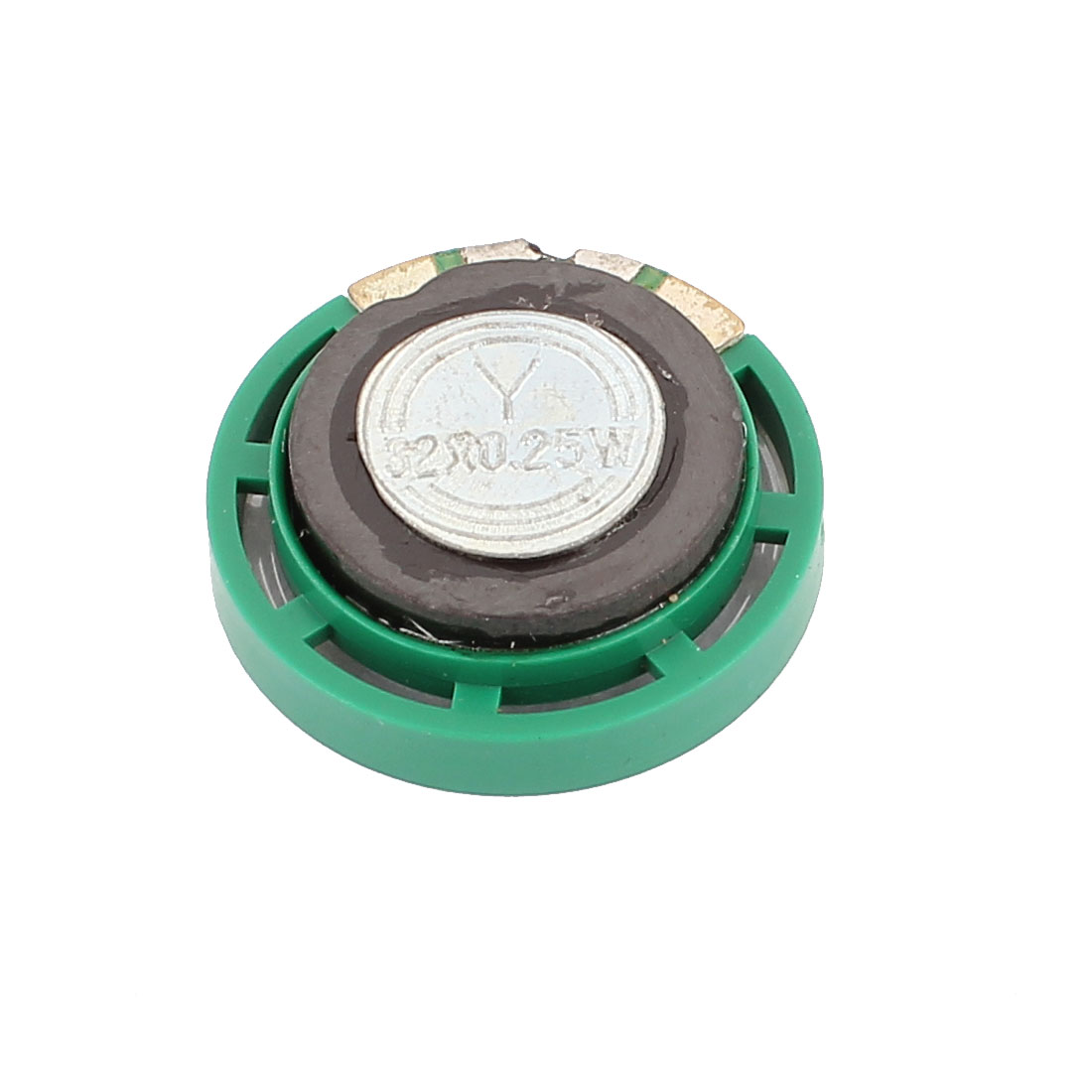 Plastic Shell 29mm 32 Ohm 0.25W External Magnet Speaker Horn Loudspeaker Green