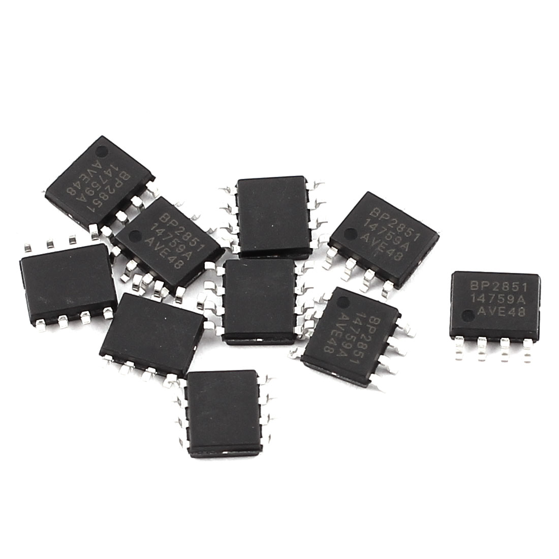 10Pcs BP2851 SOP-8 SMD SMT Type PCB Surface Mount LED Driver Circuit Module Integrated Circuit IC Chip