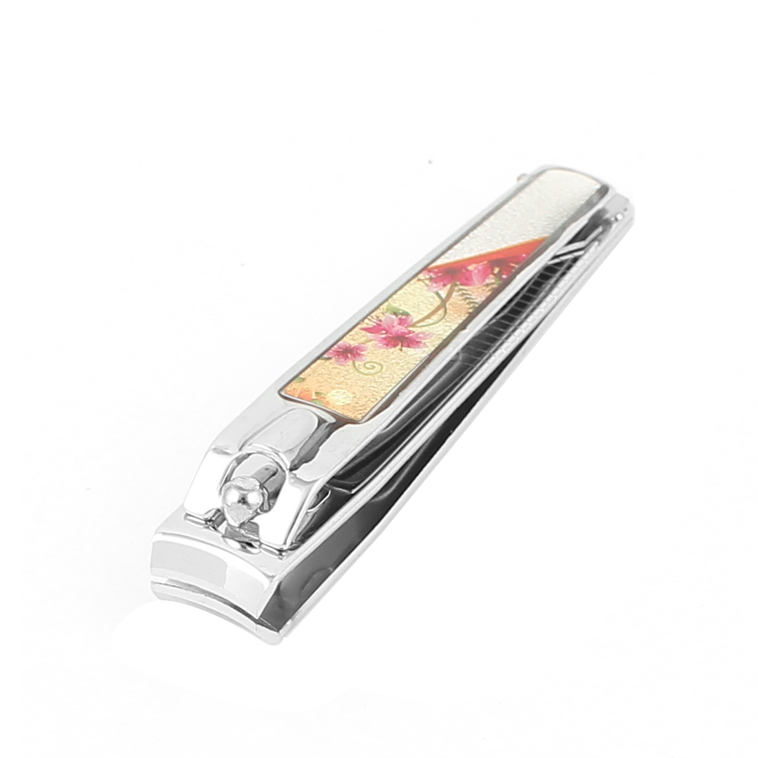 Manicure Pedicure Flowers Details Hand Toe Nail Clipper Cutter Trimmer