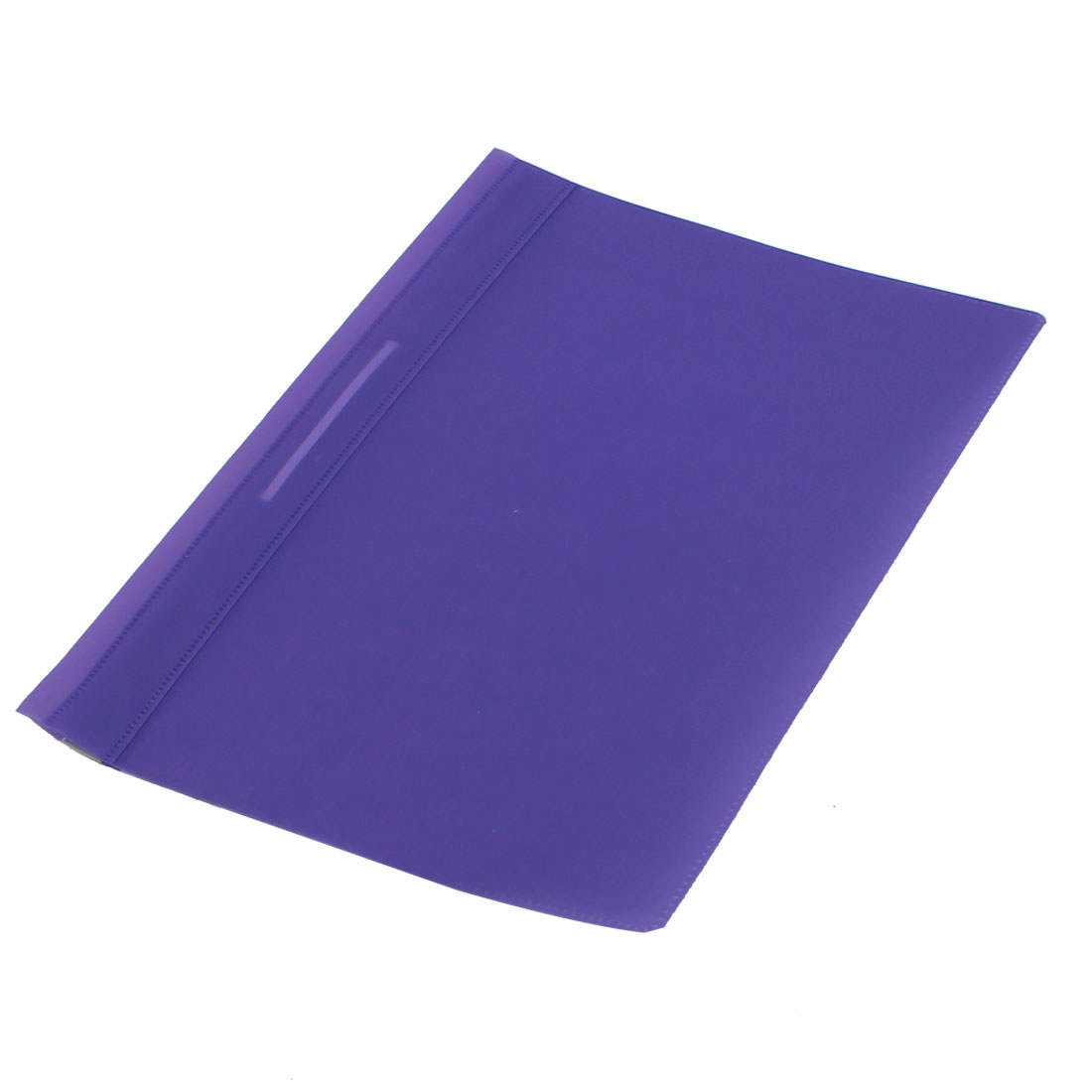 Purple Plastic A4 Paper Doucument File Bag Folder Holder Organizer Pouch