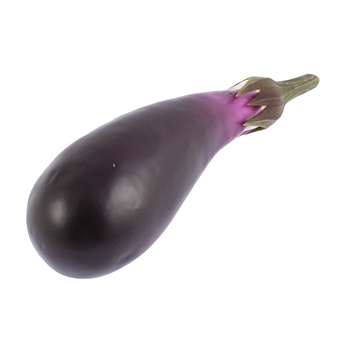 Home Decorative Artificial Foam Eggplant Imitation Vegetables