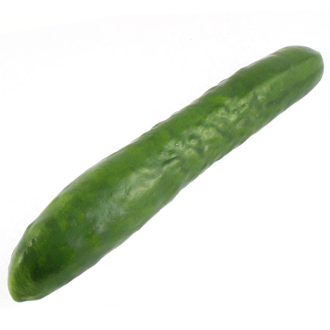 Home Kitchen Decorative Foam Fruit Vegetable Cucumber Green 24cm Length
