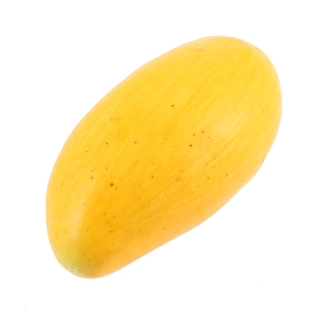 Household Office Table Decoration Artificial Mango Fruit Yellow