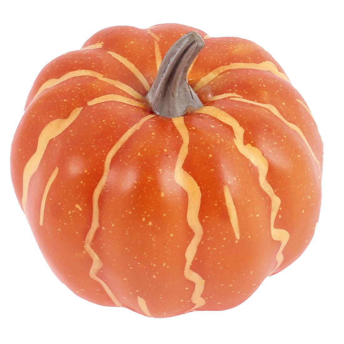 Mini Artificial Faux Vegetable Fall Harvest Pumpkin