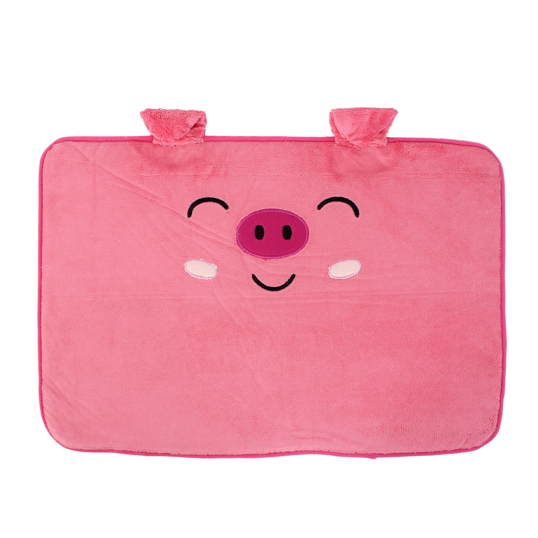 Pig Pattern Floor Mat Area Rug Carpet Footcloth 60cm x 40cm Pink
