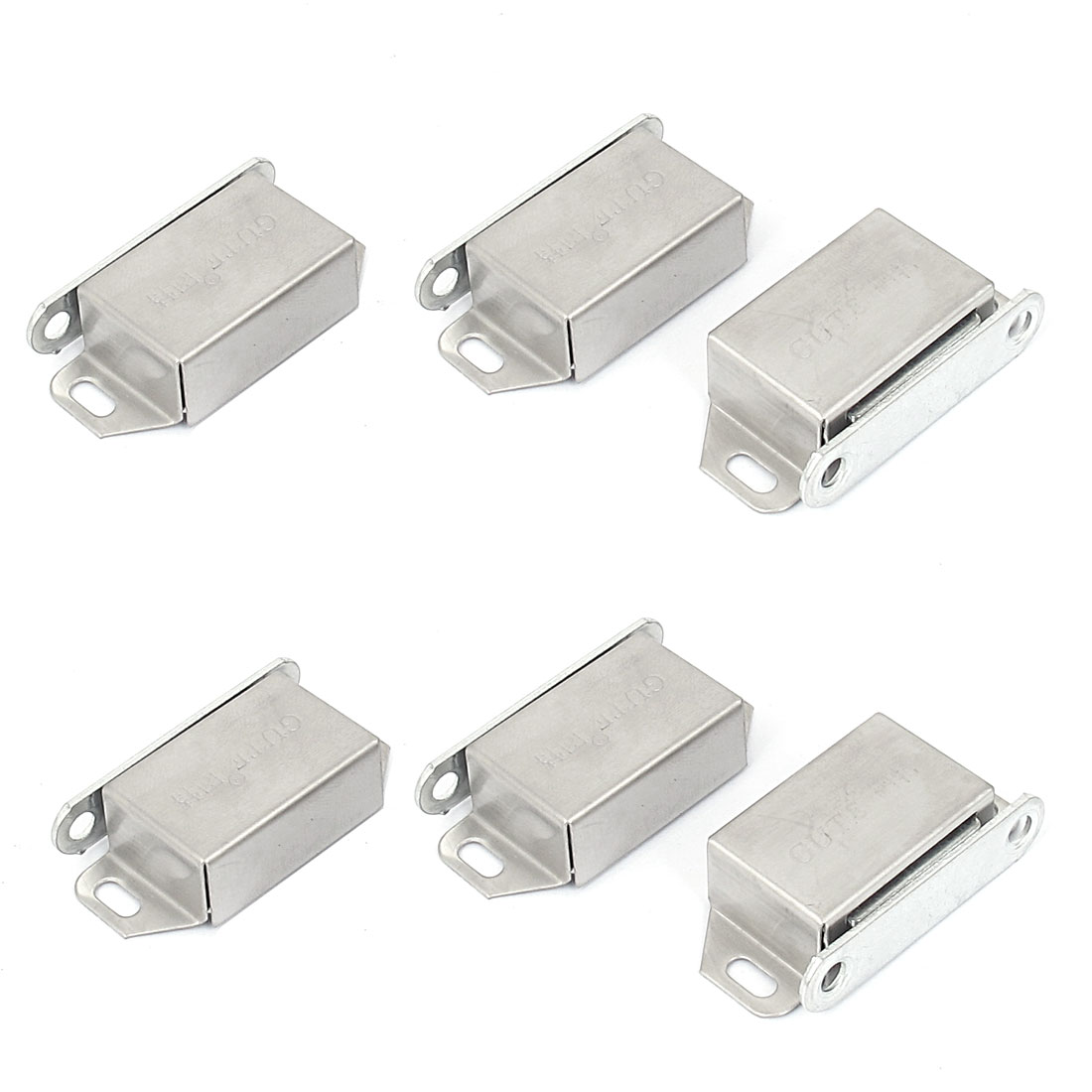 Cabinet Cupboard Metal Single Magnet Catch Latch Magnetic Door Stop Holder 6pcs