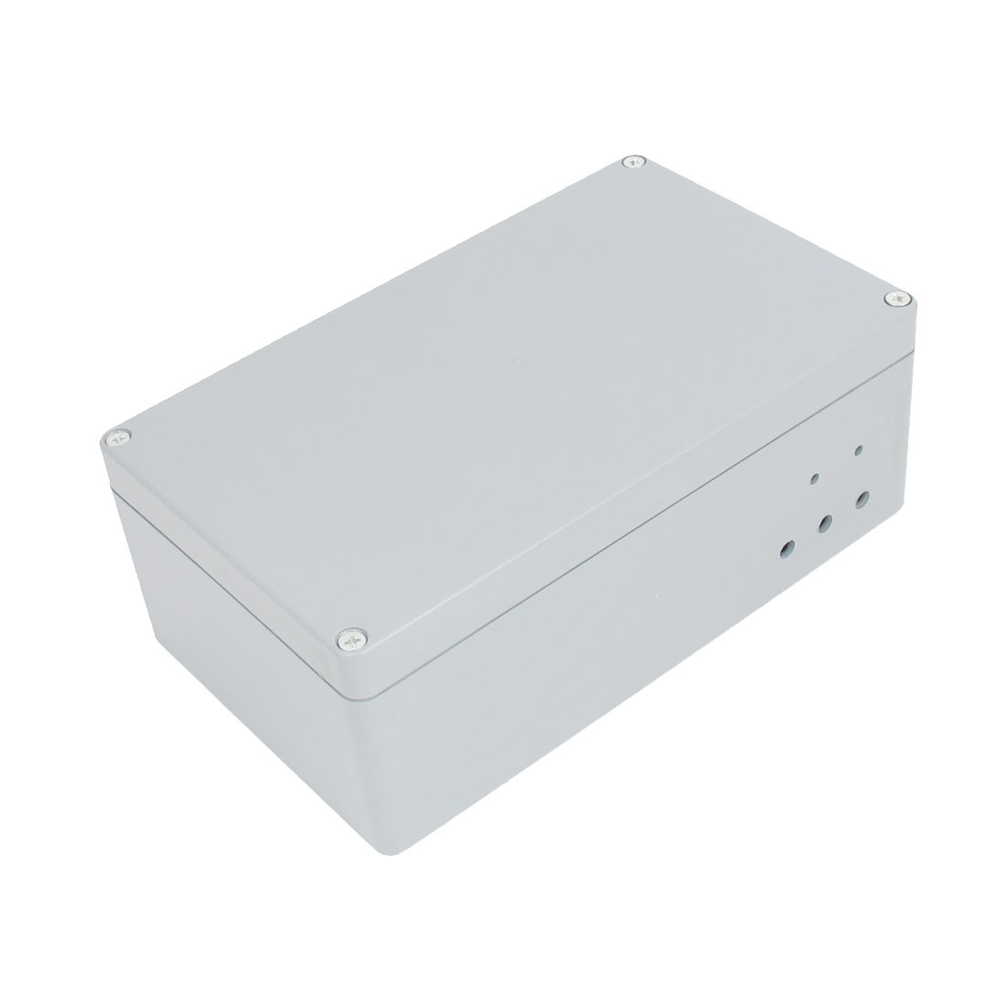 Gray Plastic Water Resistant Project Electronic Enclosure DIY Junction Box Case 198mmx120mmx75mm