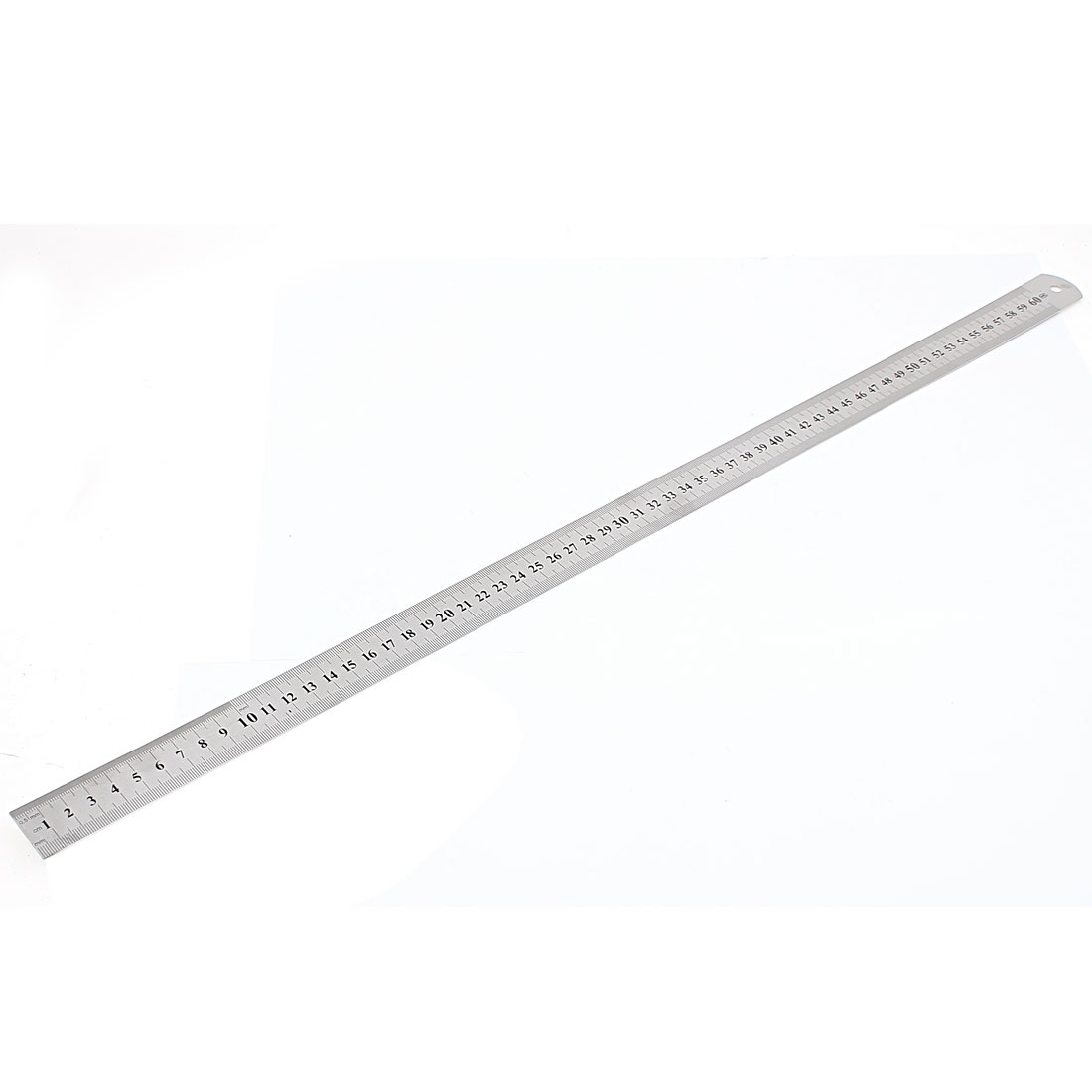Stainless Steel Double Side Drafting Measuring Straight Edge Ruler 60cm 24 Inch