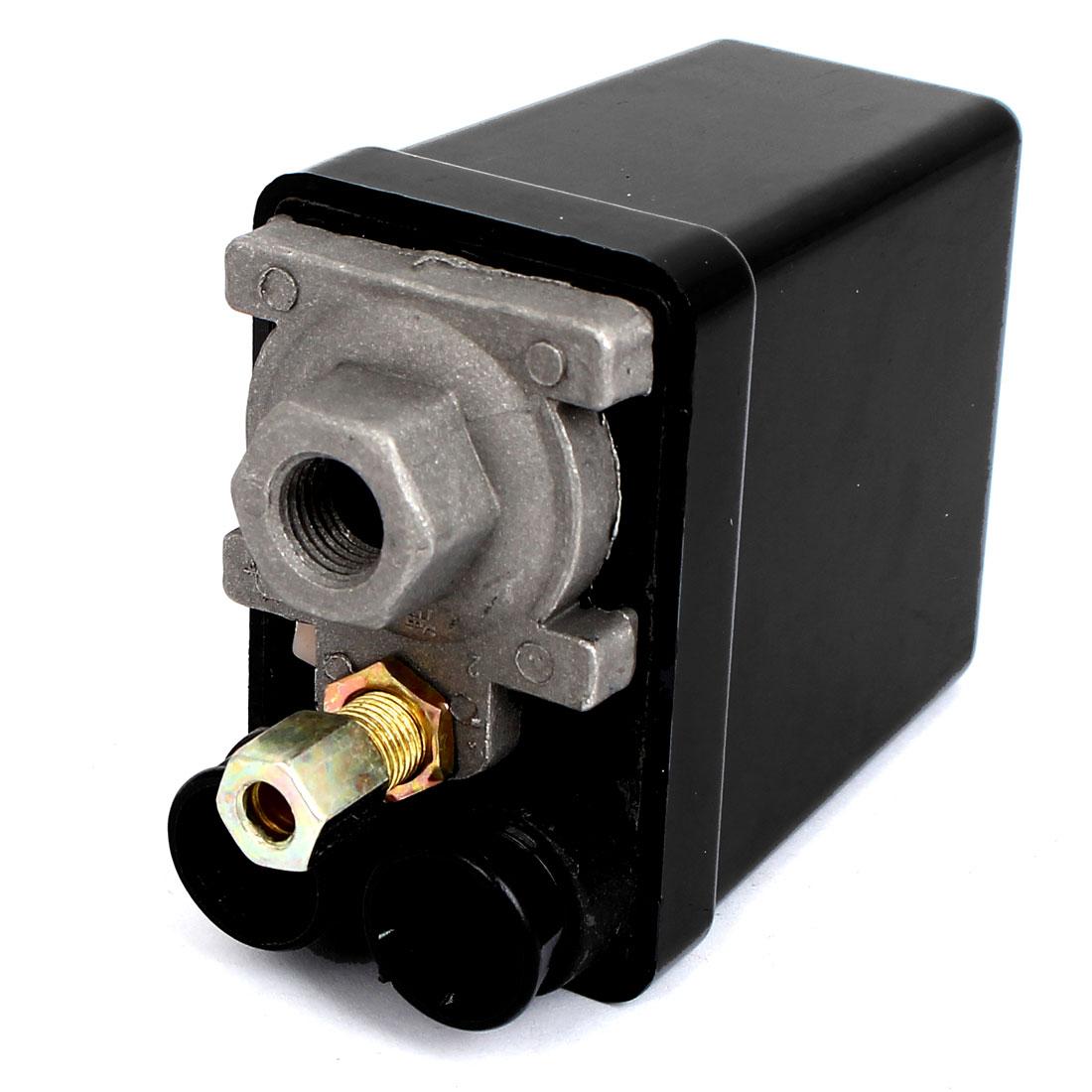 AC 240V 20A 175PSI 12Bar 1 Port Air Compressor Pressure Switch Control Valve