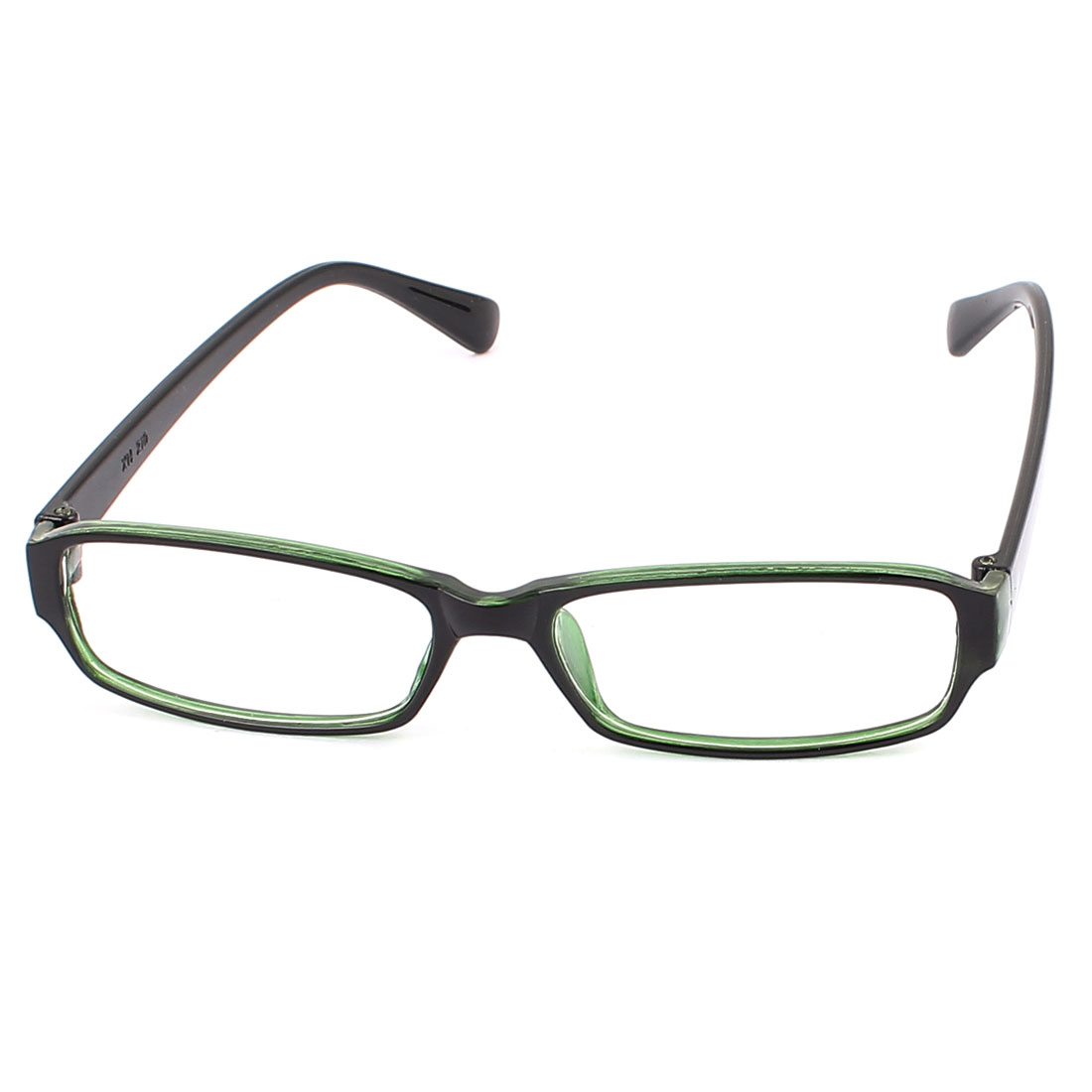Clear Rectangle Lens Full Frame Eyewear Plain Plano Glasses Spectacles Green