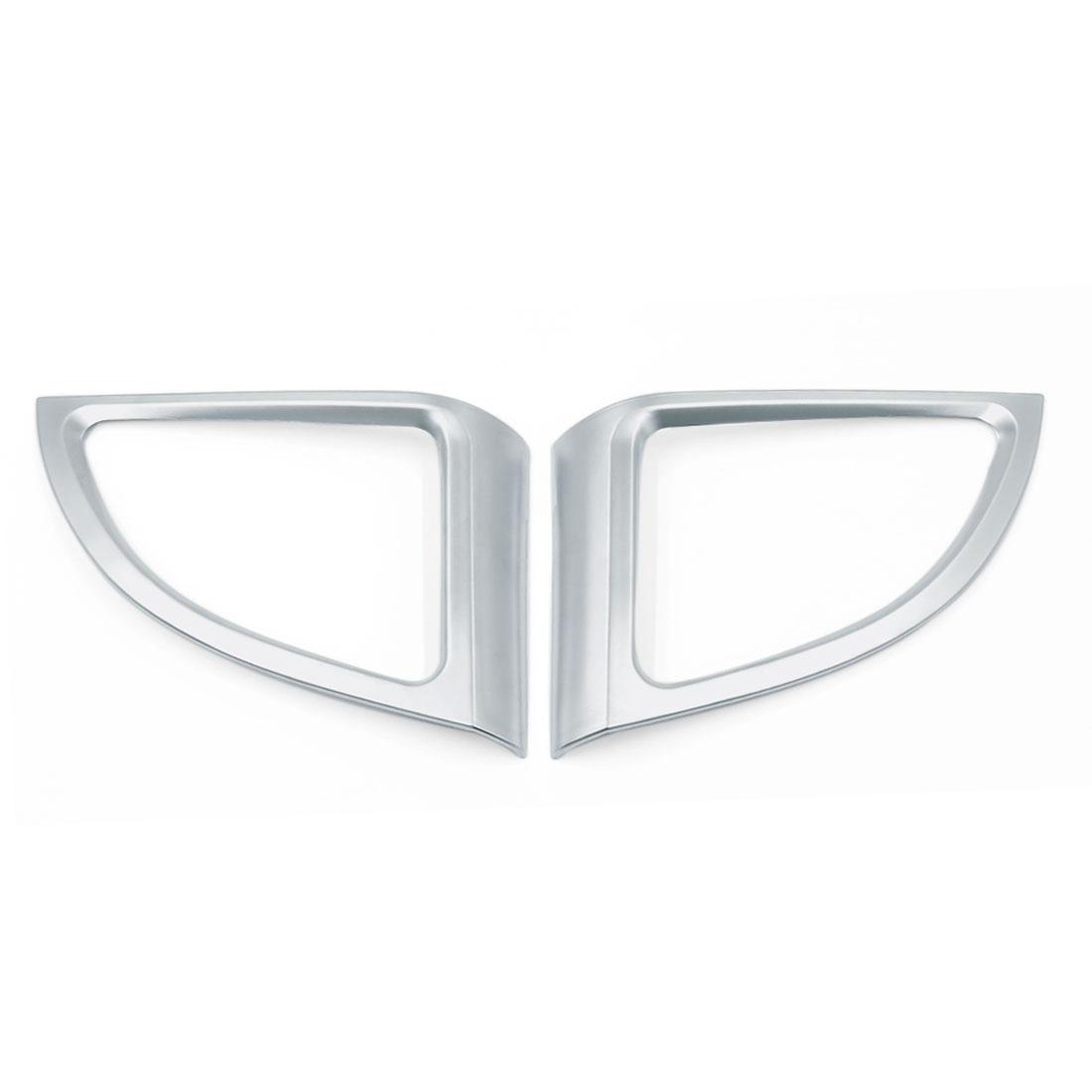 2pcs Chrome Car Air Condition Vent Cover Frame Trim for Honda CRV CR-V 2012 2013 2014 2015