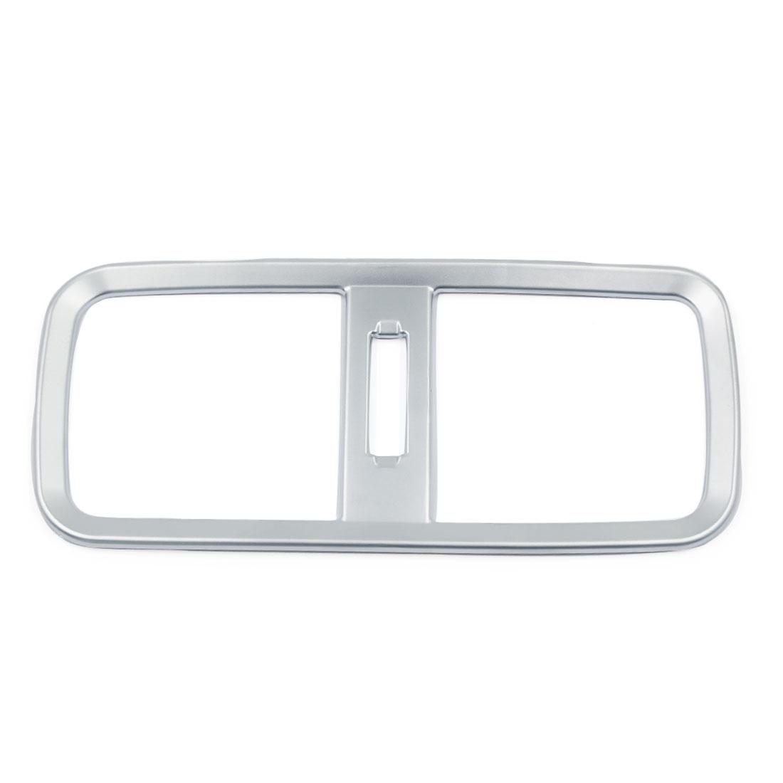 ABS Chrome Rear Air Condition Vents Frame Cover Trim for Honda CRV CR-V 2015