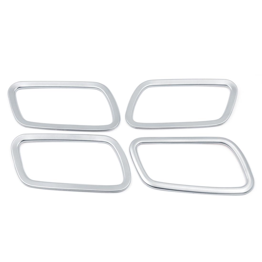 4 Pcs Chrome Car Inner Door Handle Bowl Frame Cover Trim for Honda CRV CR-V 2014