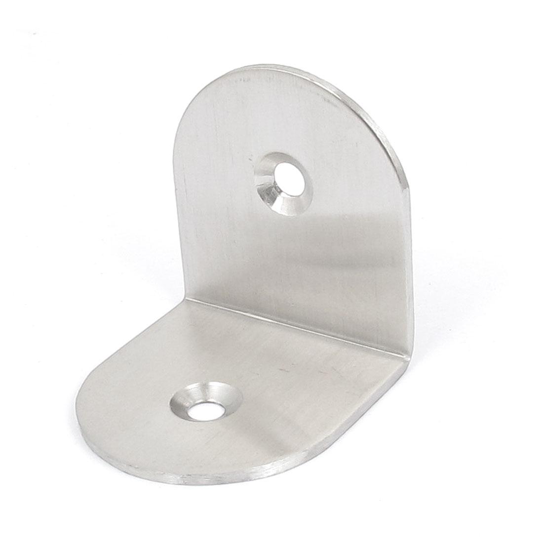 Furniture Shelf Table 40x40x38mm 2 Holes L Shaped Angle Brackets Corner Braces Supports