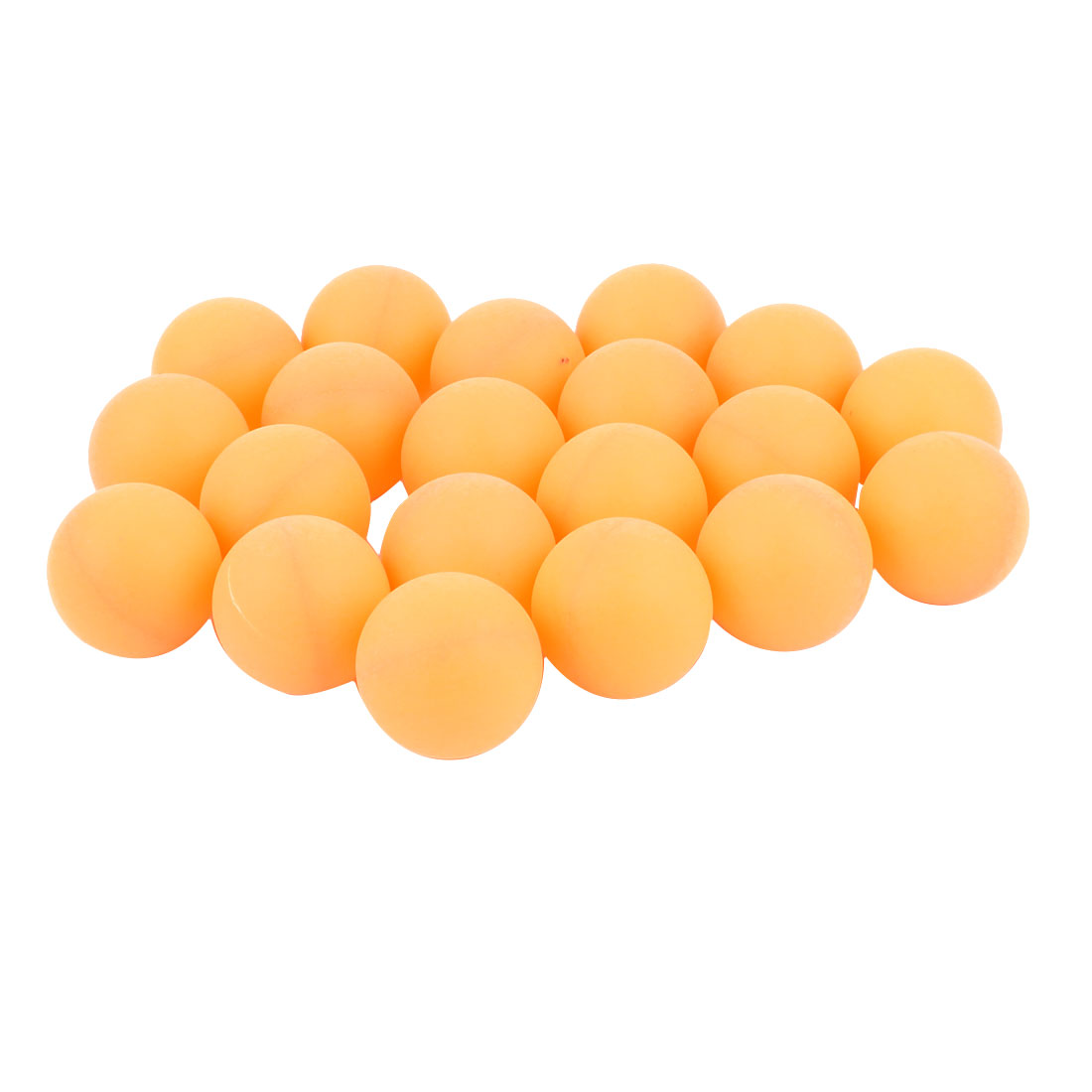 20Pcs Recreational Leisure Fitness Table Tennis Ping Pong Balls Yellow